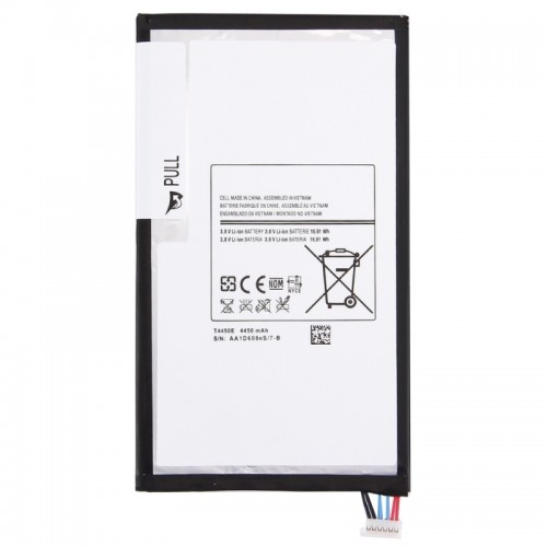 Replacement for Samsung Galaxy Tab 3 8.0 / T310 3.8V 4450mAh Rechargeable Li-ion Battery