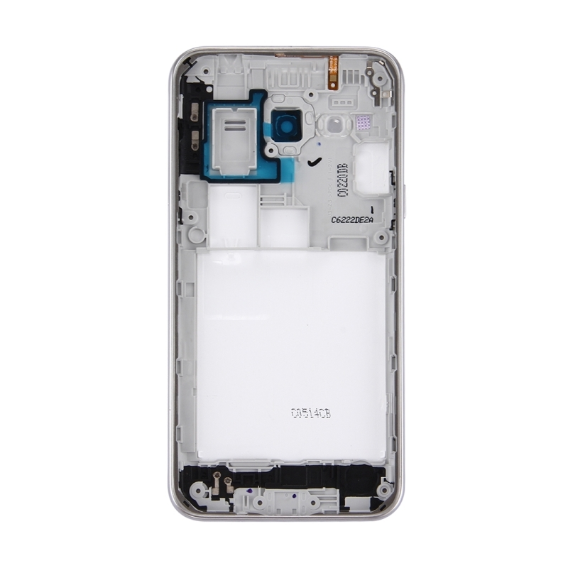 Replacement for Samsung Galaxy J3 (2016) / J320 Battery Back Cover + Middle  Frame Bezel (White)
