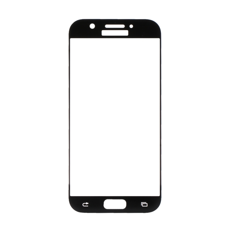 For Samsung Galaxy A5 (2017) / A520 0.33mm 9H Surface Hardness 3D Curved Surface Silk-screen Full Screen Tempered Glass Screen Protector (Black)