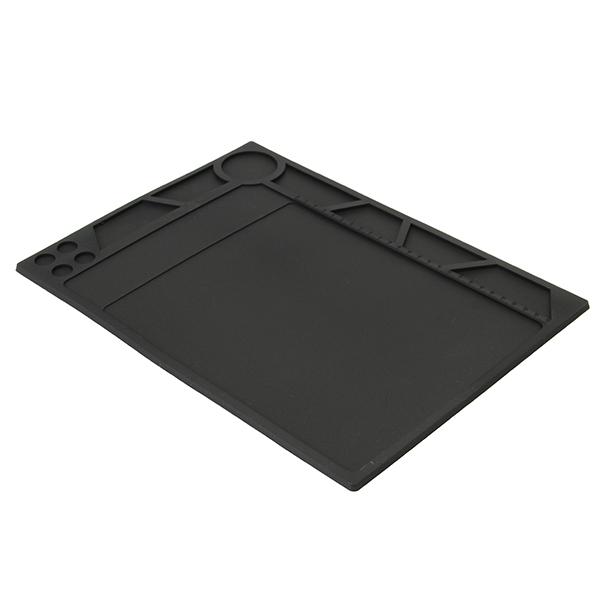 YIHUA Heat-resistant Silicone Pad Desk Mat Maintenance Platform Heat Insulation BGA Soldering Repair