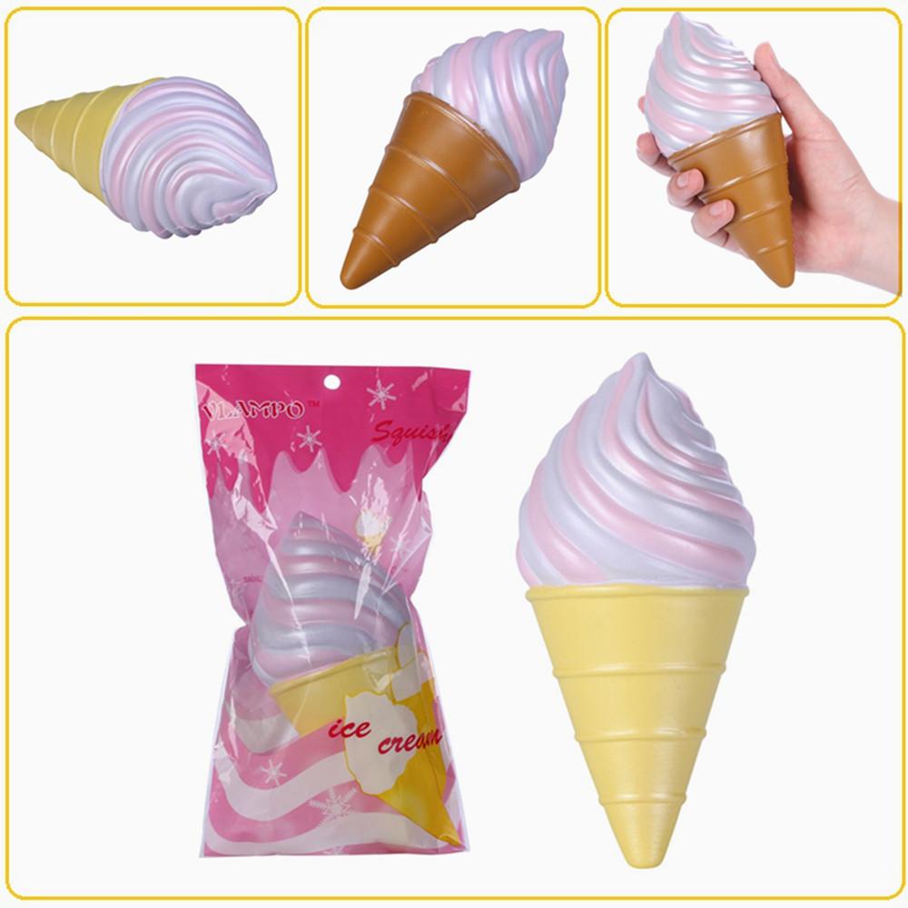 Kiibru Squishy Ice Cream Galaxy Color Slow Rising Original Packaging Collection