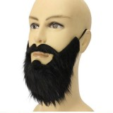 Halloween Masks False Beard Mustache Masquerade Party Mask