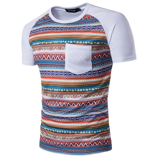 Spring summer casual quick drying tops tees men s digital for Quick t shirt printing