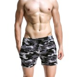 Spring Summer Men's Sport Camouflage Causal Shorts Breathable Soft Three Pants