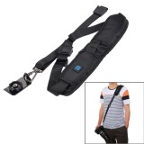 PULUZ Quick Release Anti-Slip Soft Pad Nylon Single Shoulder Camera Strap with Metal Hook for SLR / DSLR Cameras