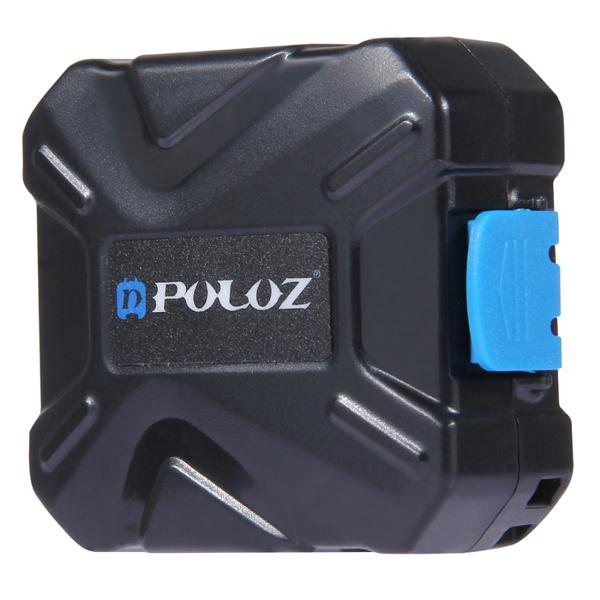 PULUZ 9 in 1 Memory Card Case Stocker for 2XQD 2CF 2TF 3SD Card