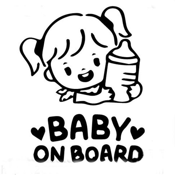 Car Sticker Baby On Board Decals Vehicle Truck Bumper Window Wall