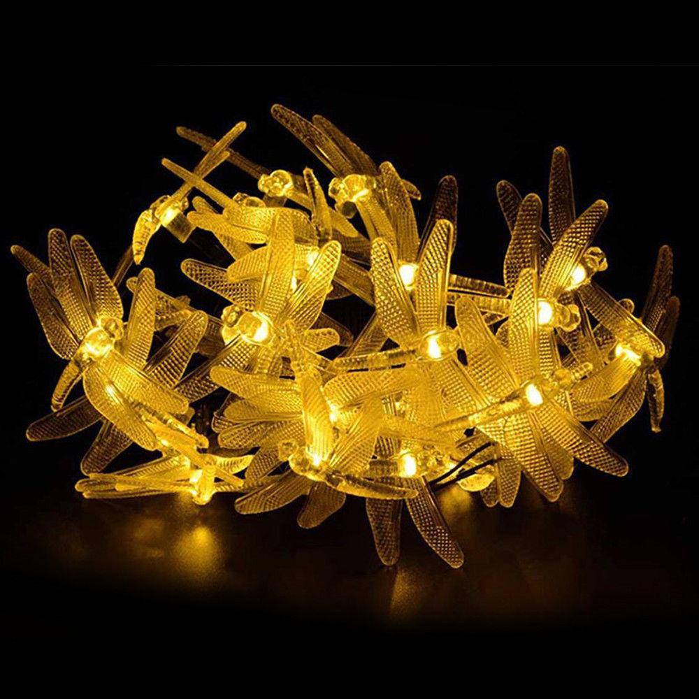 Honana Dx 334 20 Led Dragonfly Colorful String Lights