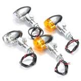 Motorcycle 9 LED Turn Signal Indicator Light Universal For Harley Chopper Bobber Cruisers