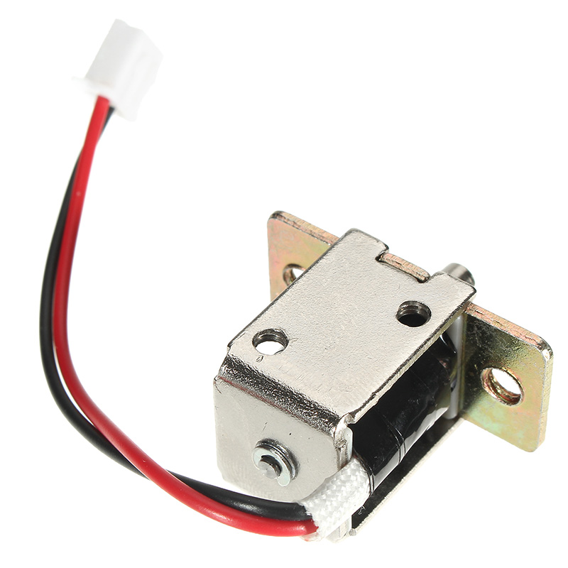 12v Dc 0 5a Mini Electric Bolt Lock Push Pull Cylindrical