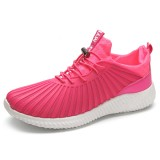 Lace Up Breathable Casual Round Toe Athletic Shoes