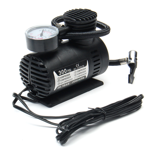 Portable Mini Air Compressor Vehicle Electric Tire