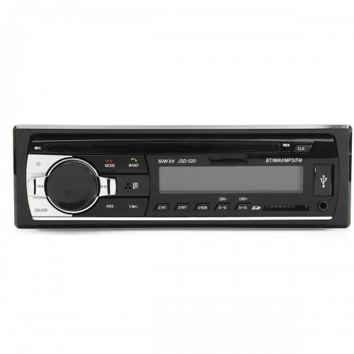 24V Car Audio Bluetooth In Dash Aux Input SD USB MP3 FM Radio Player JSD-520