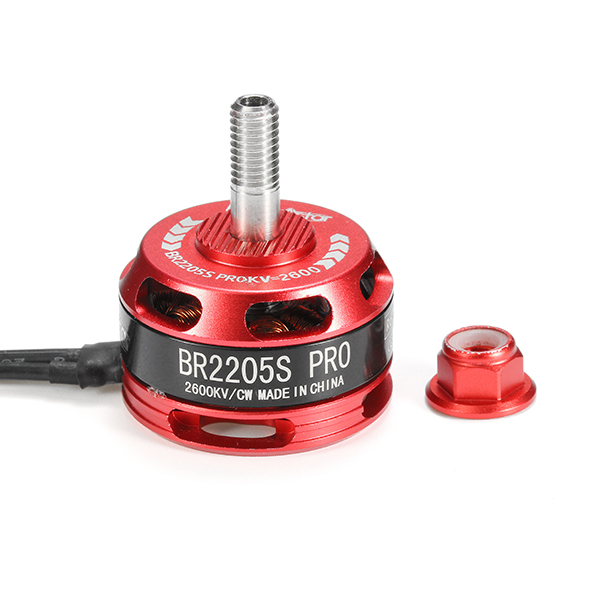 Racerstar Racing Edition 2205 BR2205S PRO 2600KV 2-4S Brushless Motor For X210 X220 250 FPV Frame