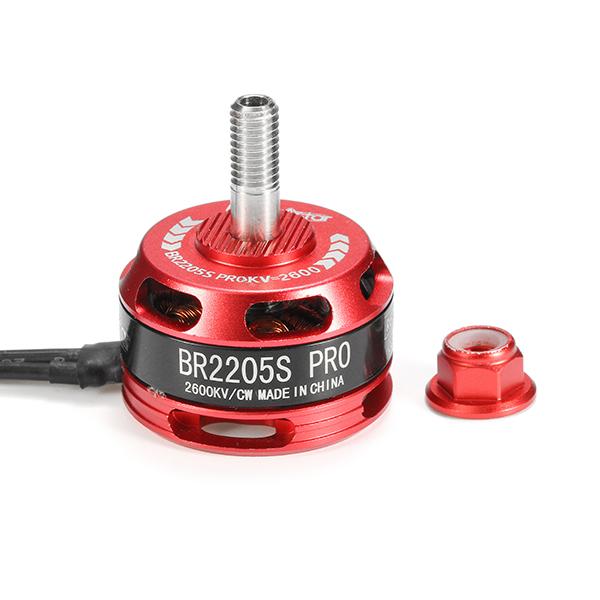 Racerstar Racing Edition 2205 BR2205S PRO 2600KV 2-4S Brushless Motor For X210 X220 250 FPV Frame