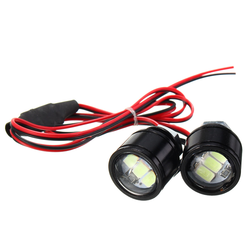 New Hot 9w White Radar Eagle Eye Lights 12v Daytime Running Light Reverse Fog Lamps Lights & Lighting