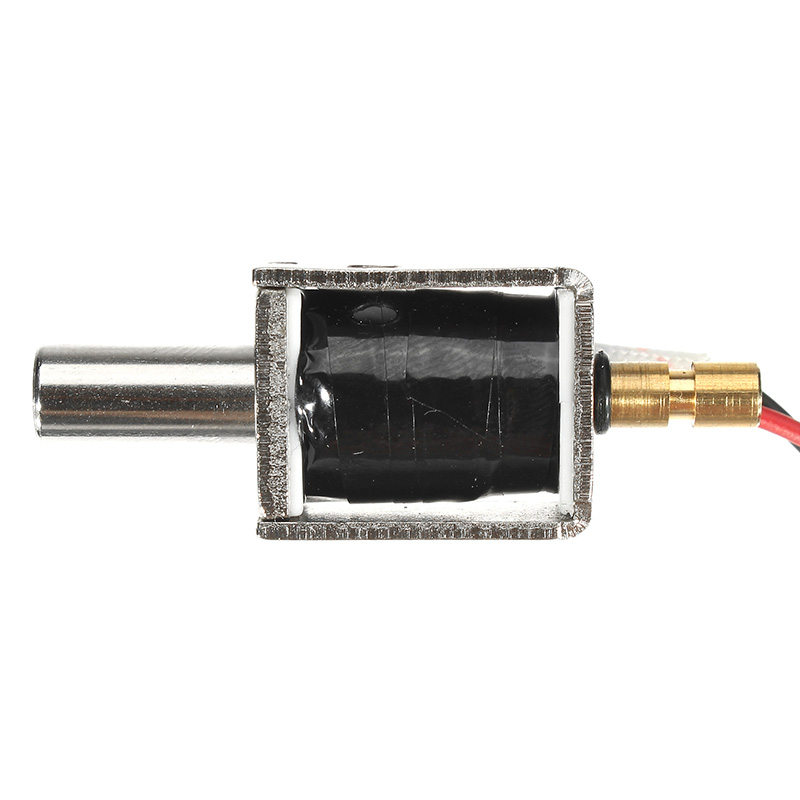 12v Dc 0 43a Mini Electric Bolt Lock Push Pull Cylindrical