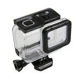 For GoPro HERO5 Touch Screen 45m Waterproof Housing Protective Case with Buckle Basic Mount & Screw, No Need to Remove Lens