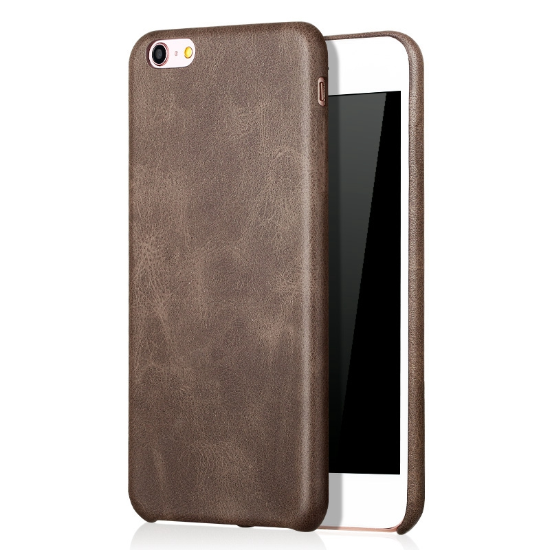 Bakeey Retro Soft PU Leather Ultra-thin Shockproof Case ...