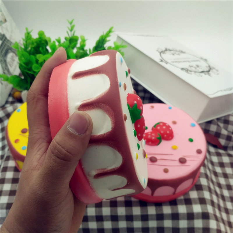 Squishy Cheesecake Toy : Squishy Jumbo Mousse Cheesecake 14cm Slow Rising Cake Collection Gift Decor Toy Alex NLD