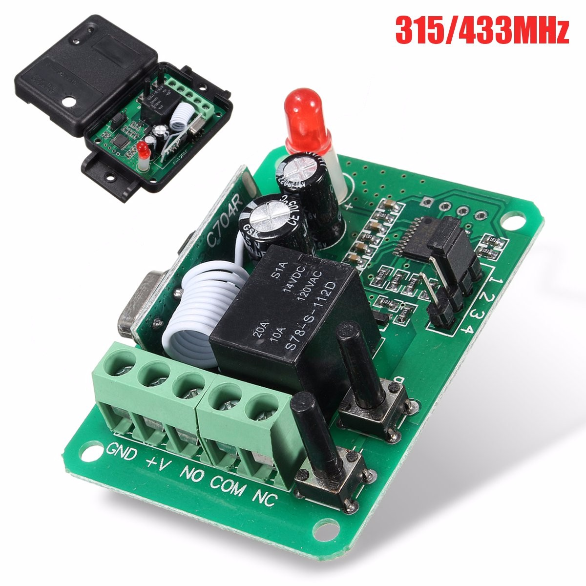 Dc12v 1ch 315 433mhz Wireless Time Delay Relay Rf Remote Control The Equipment Is Mode You 7f5e9767 86e9 4d97 8323 D7c4523b9a4a