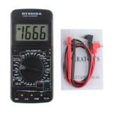 9205A Portable Digital Multimeter AC/DC Voltage Current Resistance Capacitance Voltmeter Ammeter Multi Tester LCD Display