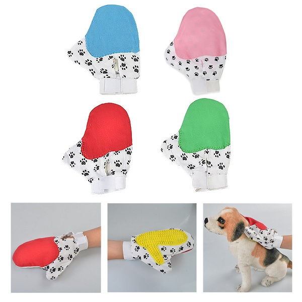 Pet Hair Grooming Glove Hair Removal Glove For Cat And Dogs Pet Grooming Tools