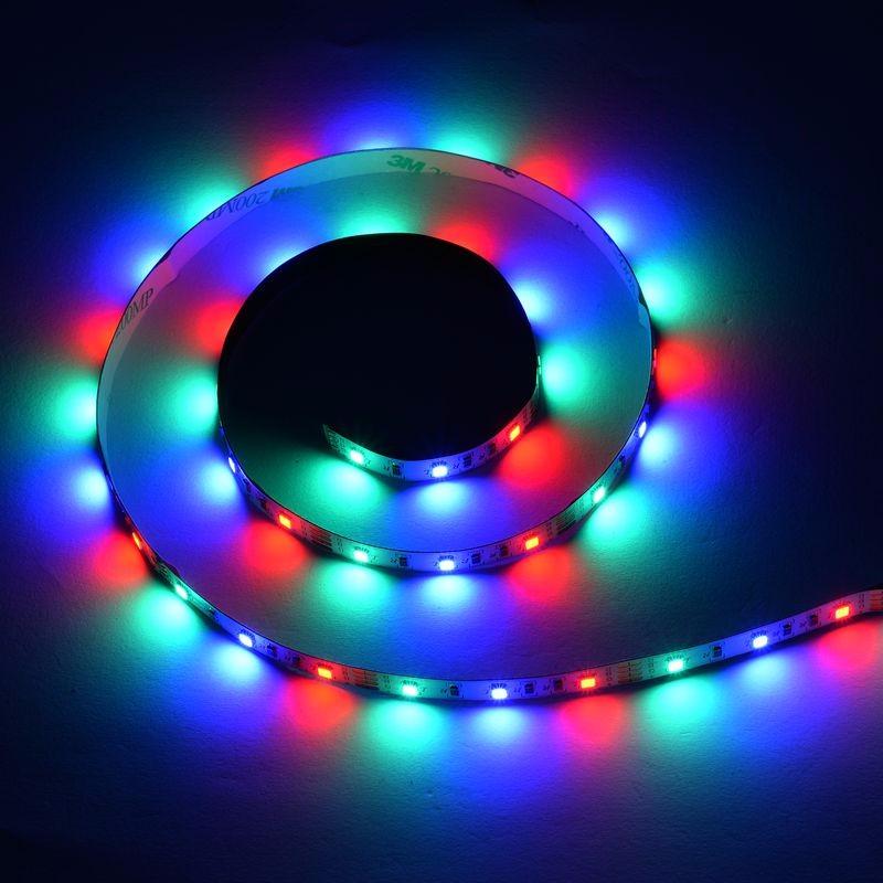 2m 3m 5m Usb Smd 2835 Rgb Tv Background Lighting Kit Strip Light