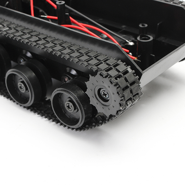3V-7V DIY Light Shock Absorbed Smart Tank Robot Chassis Car Kit With 130 Motor For Arduino SCM