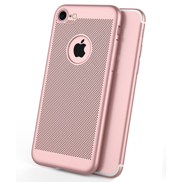 Mesh Dissipating Heat Fingerprint Resistant Hard PC Shockproof Back Case For iPhone 6/6s Plus 5.5""