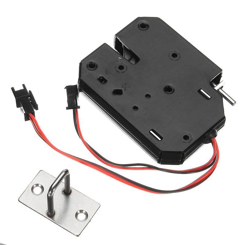 K02 12v dc 2a electric magnetic lock intelligent cabinet for 12v magnetic door lock