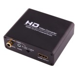 NEWKENG X5 HDMI to DVI with Audio 3.5mm Coaxial Output Video Converter