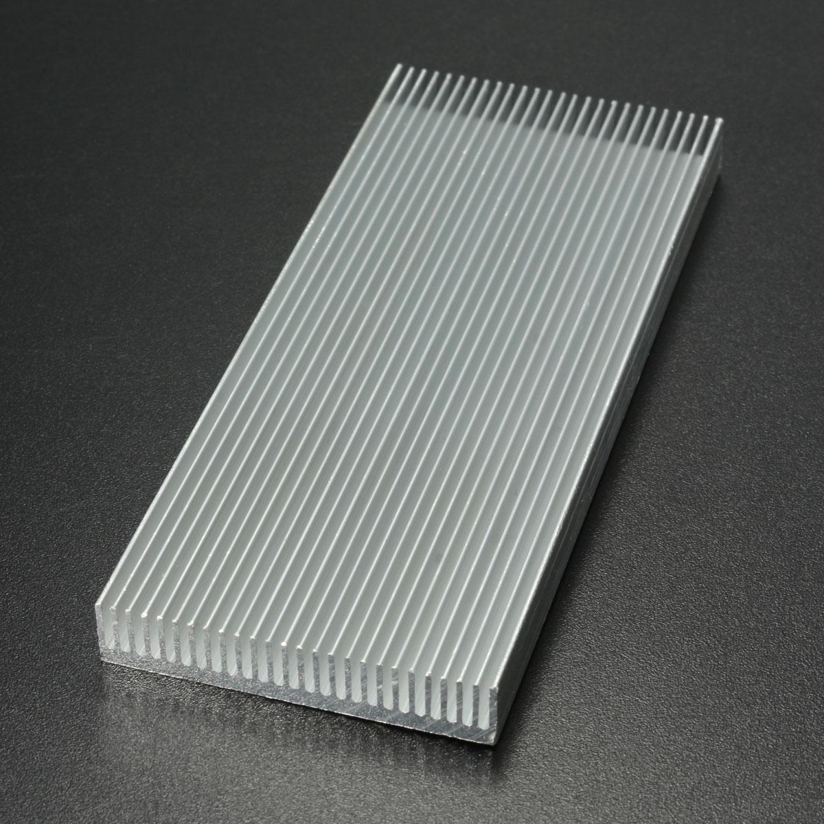 100x41x8mm aluminum heat sink heatsink cooler for high power led amplifier transistor cooling. Black Bedroom Furniture Sets. Home Design Ideas