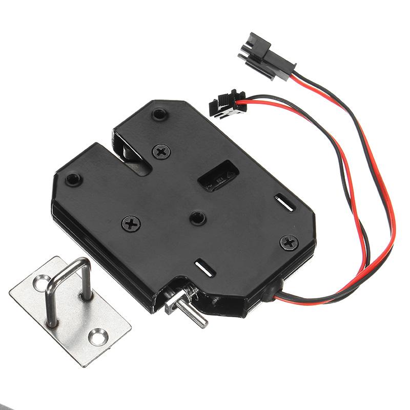 K02 12v Dc 2a Electric Magnetic Lock Intelligent Cabinet Door Lock
