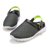IPRee™ Plus Size Outdoor Mesh Slippers Breathable Sandals Summer Beach Casual Lazy Shoes