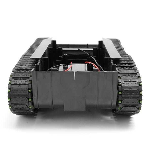 3V-9V DIY Shock Absorbed Smart Robot Tank Chassis Car Kit With 260 Motor For Arduino SCM