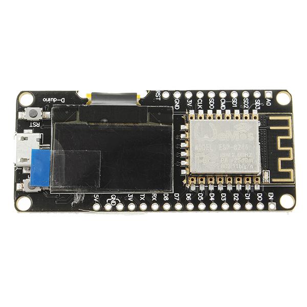 Wemos nodemcu wifi for arduino and esp