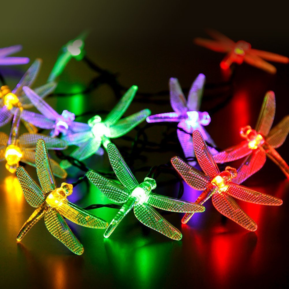 Honana Dx 334 20 Led Dragonfly Colorful String Lights