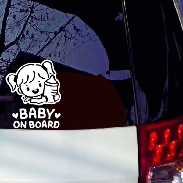 Car Sticker Baby On Board Decals Vehicle Truck Bumper Window Wall - Window decals for vehicles