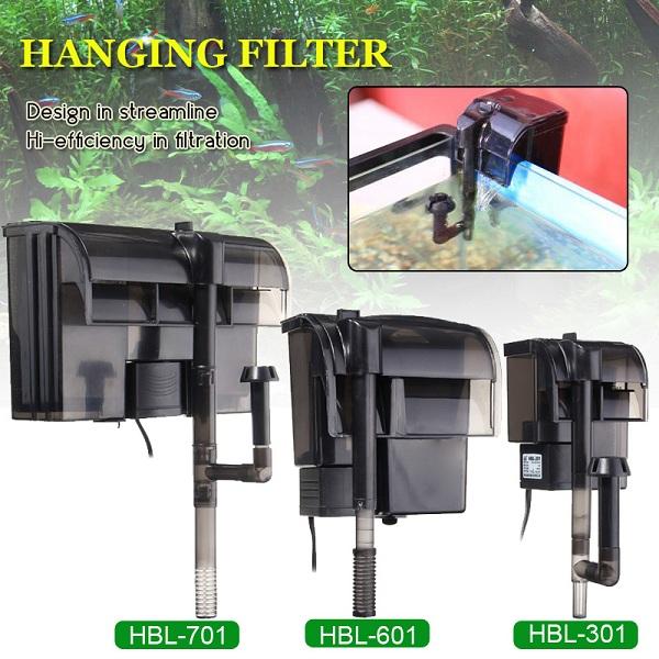 Power Filter Hang-on Aquarium Filter Fish Tank Filter External Hanging Fish Tank Power Filter