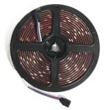 2PCS 5M 150 LEDs 5050 RGB Waterproof 44 Key Remote Control DC12V Flexible LED Strip Light Kit