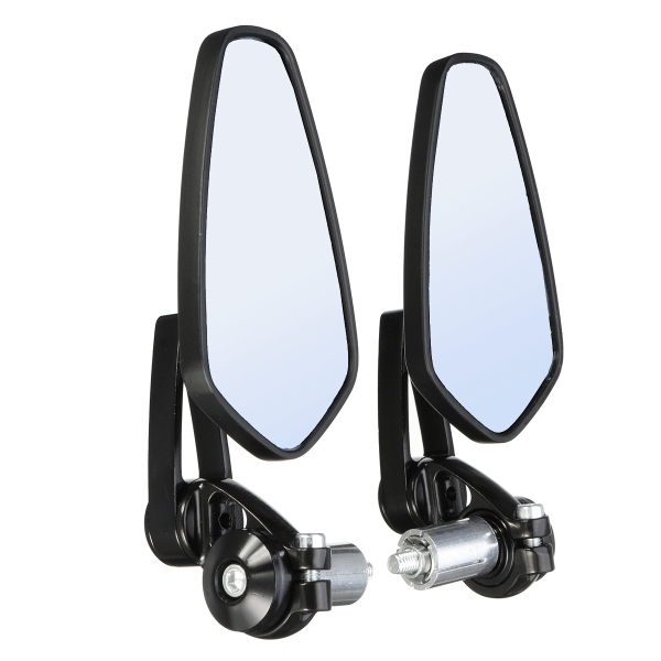 Pair 7 8 Inch Motorcycle Rearview Mirror Bar Accessories