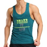 Sports Fitness Running Training Vest Speed Dry Sweat Absorption Vest Letter Printing Tees