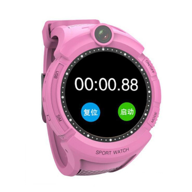 Kids Smart Watches with Camera GPS Location Child Touch Screen Waterproof Anti-Lost Monitor