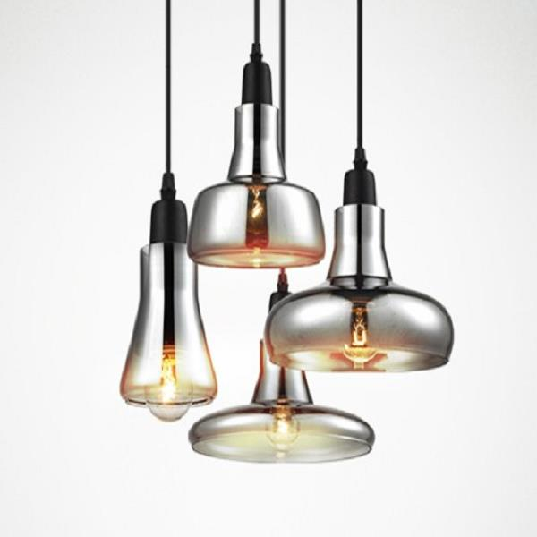 E14 Light Source Not Included Modern Glass Chandelier And