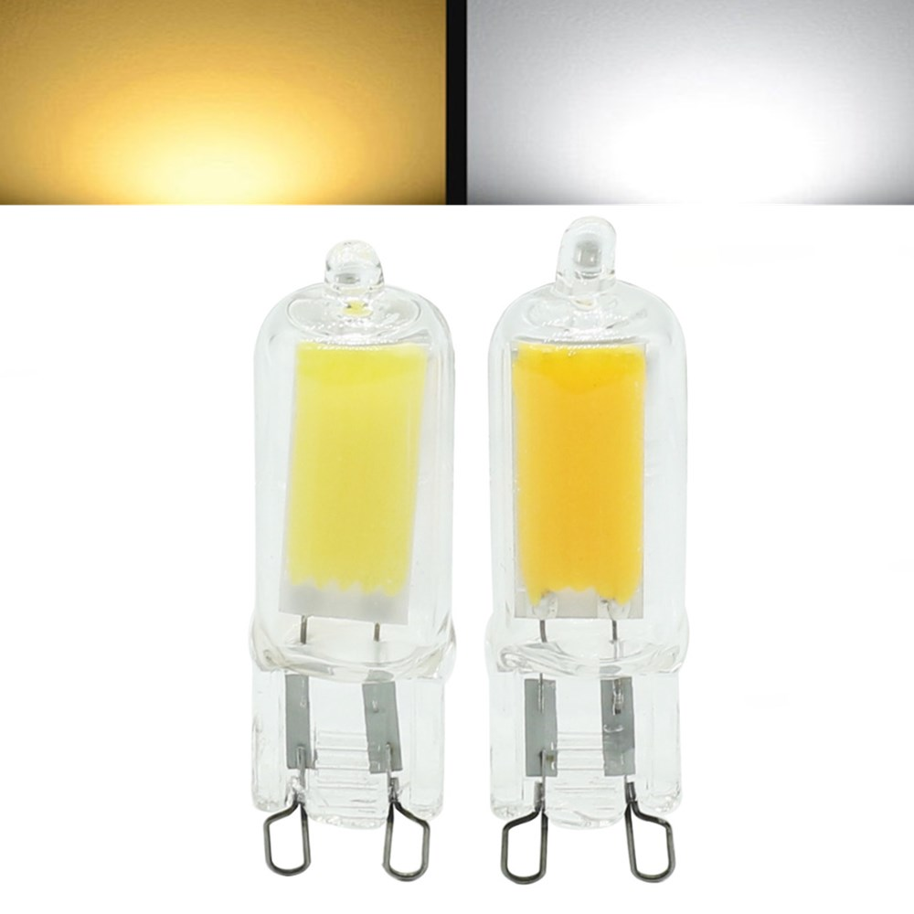 Mini g9 2w led cob light lamp halogen chandelier crystal light bulb mini g9 2w led cob light lamp halogen chandelier crystal light bulb ac220v arubaitofo Image collections
