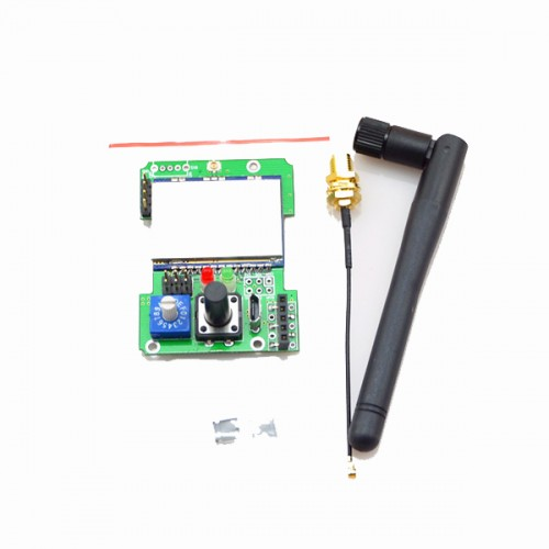 2.4G CC2500 NRF24L01 A7105 CTRF6936 4-IN-1 Multi-protocol STM32 TX Module With Antenna