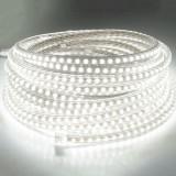 144W 720 LEDs SMD 5730 Casing IP65 Waterproof  LED Light Strip with Power Plug, 72 LED/m, 10m, AC 220V (White Light)