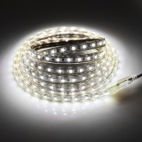 18W 180 LEDs SMD 5050 Casing IP65 Waterproof  LED Light Strip with Power Plug, 60 LED/m, 3m, AC 220V (White Light)