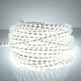 120W 600 LEDs SMD 5050 Casing IP65 Waterproof  LED Light Strip with Power Plug, 60 LED/m, 10m, AC 220V (White Light)